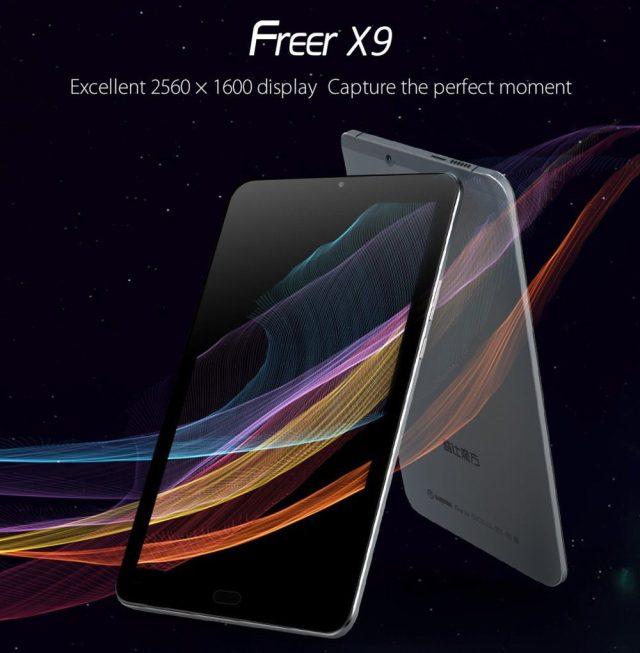Freer X9 High-Quality Display