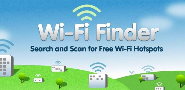 Just in Case: Wi-Fi Finder