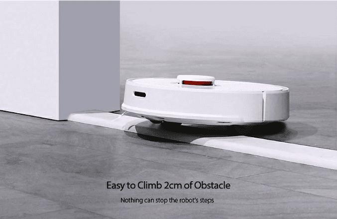 Roborock S50 Smart Robot Vacuum Cleaner Added Sensors & Features