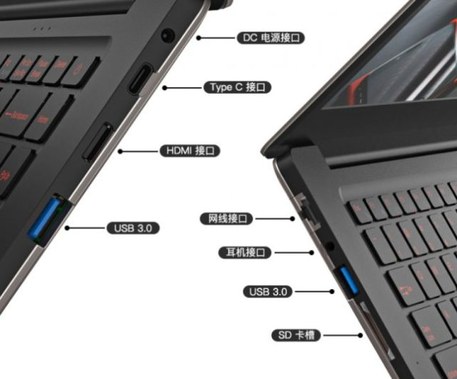 T - Bao Tbook X8S Pro Ports & Connectivity