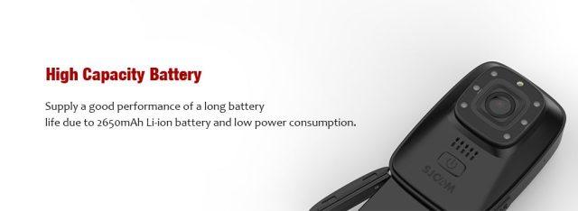 SJCAM A10 Battery Life