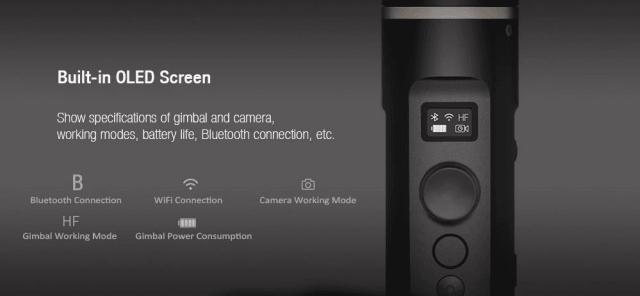 FY Feiyutech G6 Gimbal Stabilizer Screen