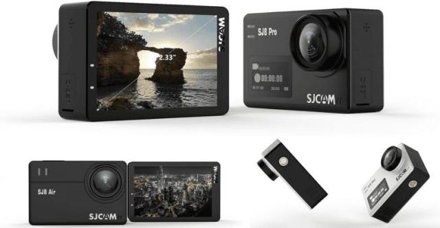 SJCAM SJ8 Pro Action Camera Design