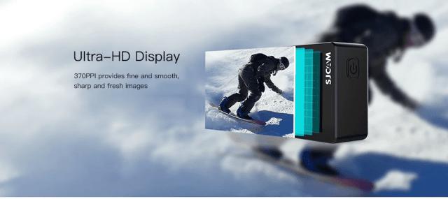 SJCAM SJ8 Pro Action Camera Display