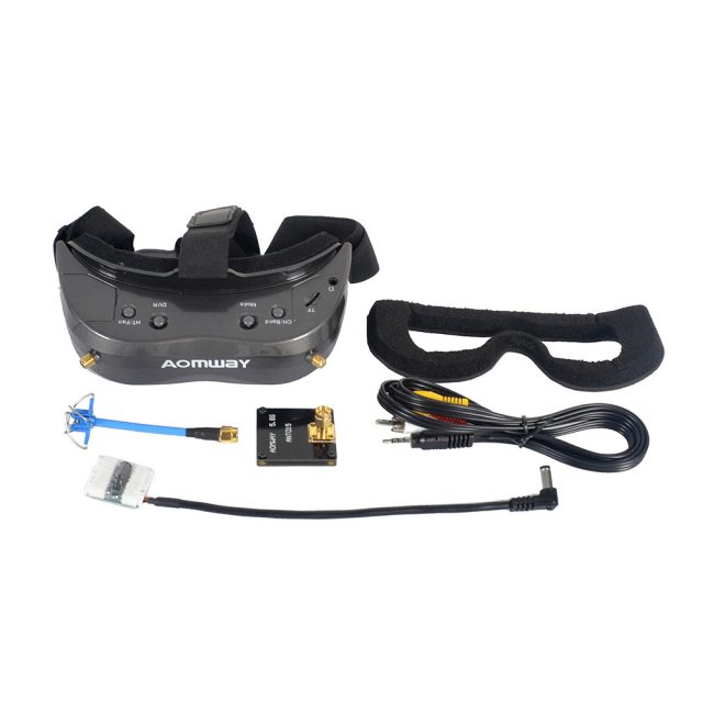 AOMWAY Commander V2 FPV Goggles package Content