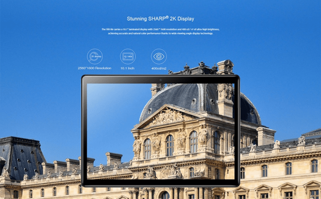 Chuwi Hi 9 Air 4G Tablet PC Display
