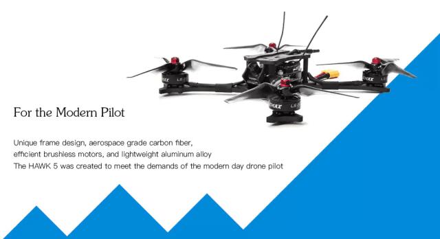 EMAX HAWK 5 FPV Racing Drone Design
