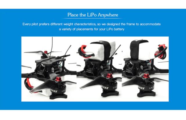 EMAX HAWK 5 FPV Racing Drone Portable Design