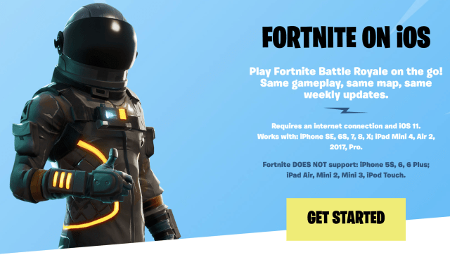 How to get Fortnite on iOS Download