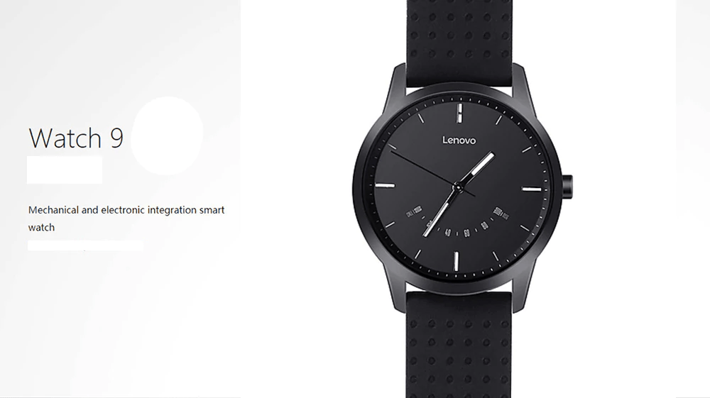 Lenovo Watch 9 Wristband Look