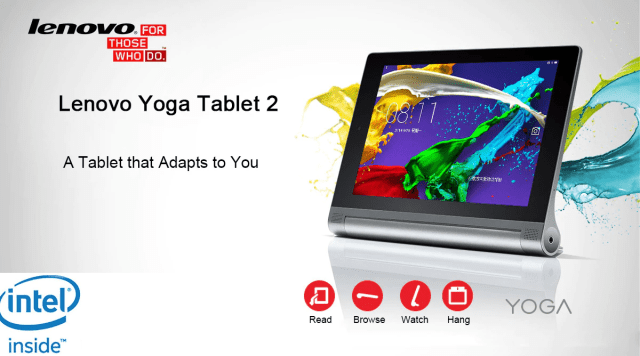 Lenovo Yoga 2 Features and Specifications