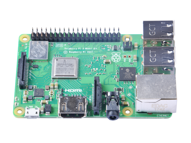 Raspberry Pi 3 Model B + Review Front