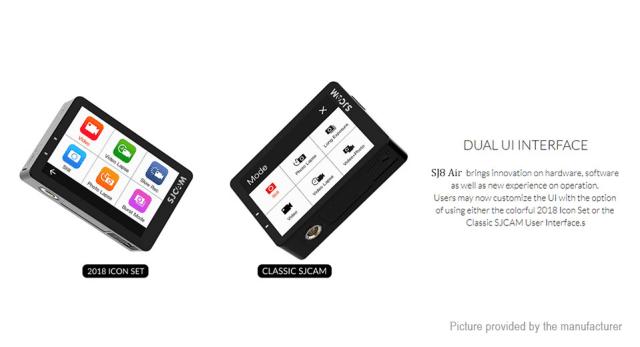SJCAM SJ8 Air Dual UI