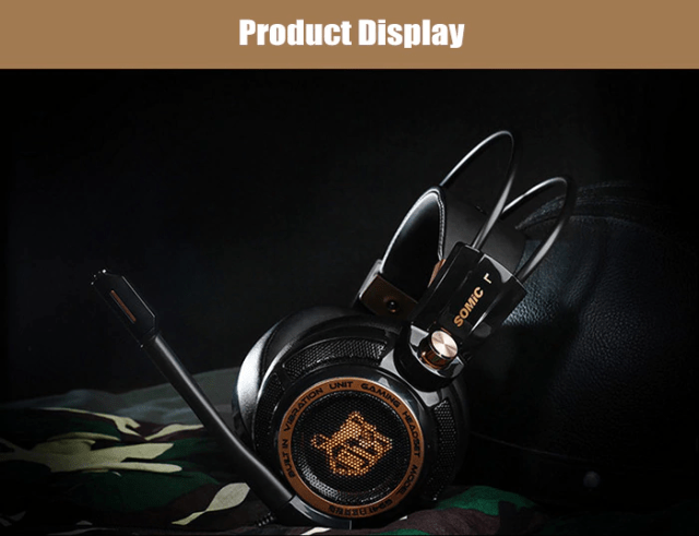 SOMIC G941 USB GAMING HEADSET Display