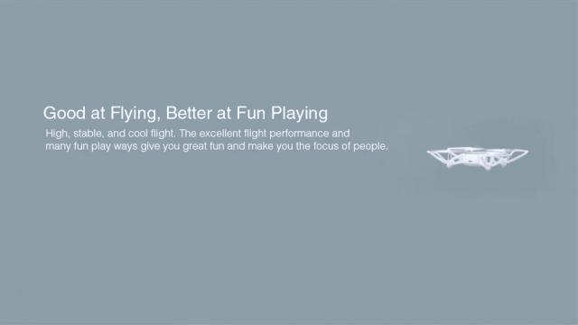 Xiaomi MITU Mini RC Drone Flight