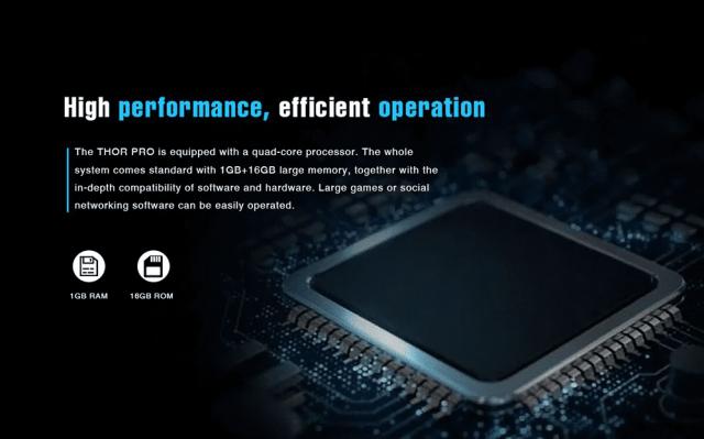 Zeblaze Thor Pro 3G Smartwacth Hardware