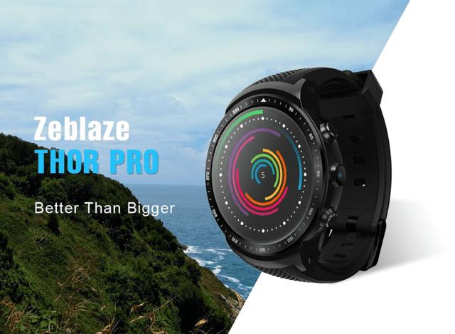 Zeblaze Thor Pro 3G Smartwacth Look