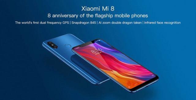 Xiaomi Mi 8 Hardware