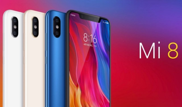 Xiaomi Mi 8 Features and Specifications