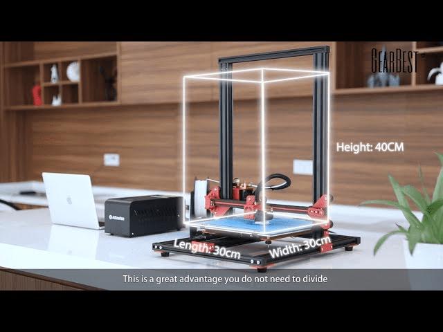Alfawise U 20 Large Scale DIY 3D Printer Built