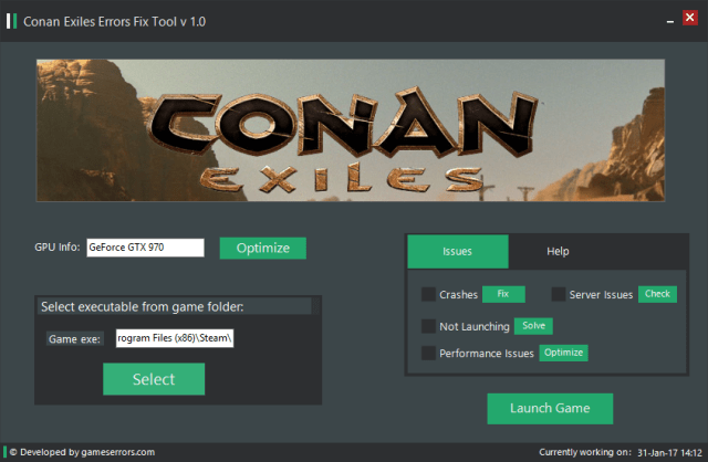 Conan exiles servers down Third party fix