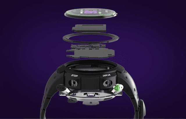 DTNO.I F13 Smart Watch Built
