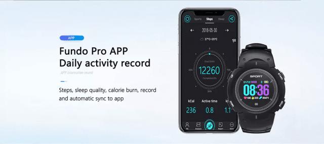 DTNO.I F13 Smart Watch Mobile App