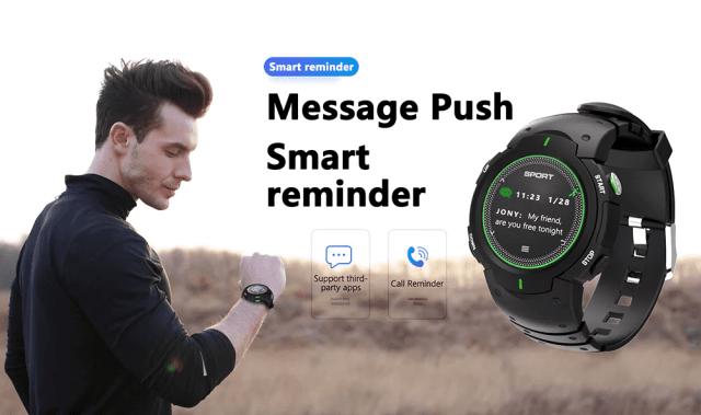 DTNO.I F13 Smart Watch Smart Reminder