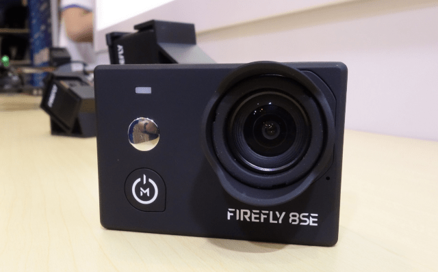 Hawkeye Firefly 8SE Action Camera Design