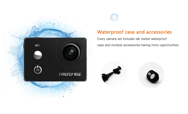 Hawkeye Firefly 8SE Action Camera Waterproof