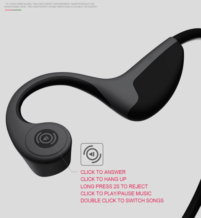 Ten Fifteen Z8 Bluetooth Earphone Controls