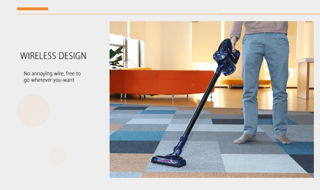 WP536 Handheld Vacuum Cleaner Design