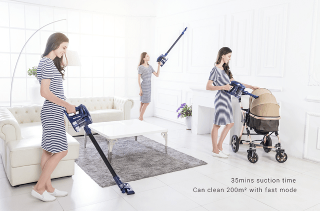 WP536 Handheld Vacuum Cleaner Usage
