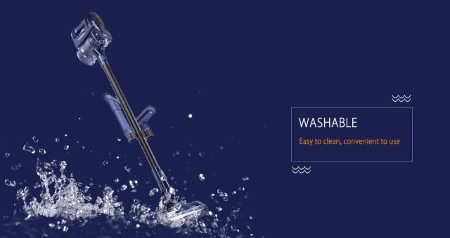 WP536 Handheld Vacuum Cleaner Washable