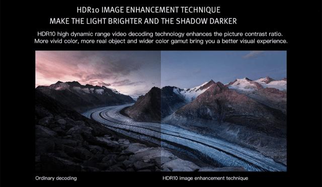 Xiaomi TYY01ZM DLP 3500 Lumens Projector Image Enhancements