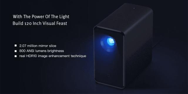 Xiaomi TYY01ZM DLP 3500 Lumens Projector Viewing