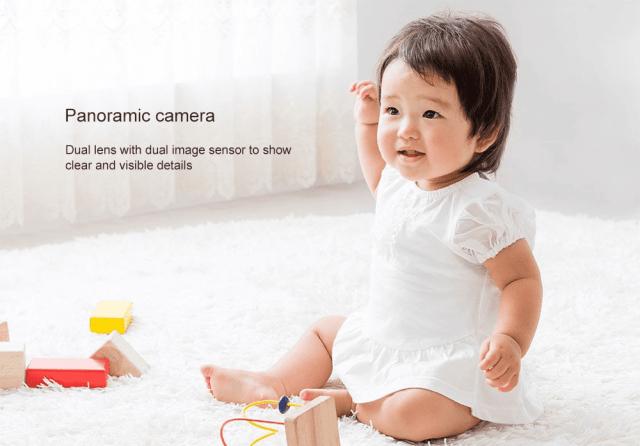 Xiaomi xiaofang Panoramic Camera Dual Image Sensor