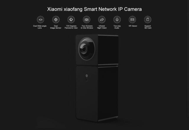 Xiaomi xiaofang Panoramic Camera Look