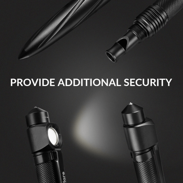 Zanflare F10 Tactical Flashlight Pen Security