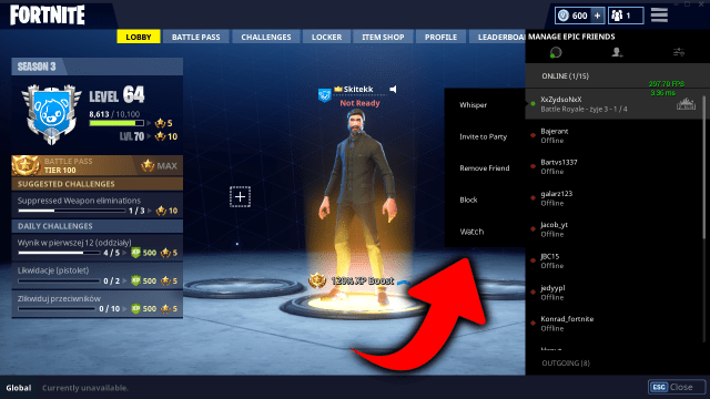 how to add people on epic games Friends