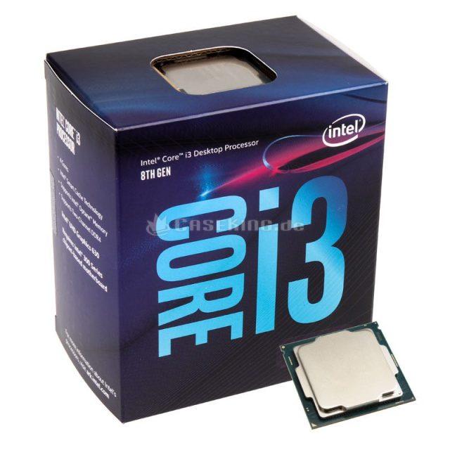 Best Budget CPU Intel Core i3 8100