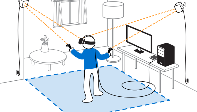 Htc Vive vs Oculus Rift HTC Vive Setup