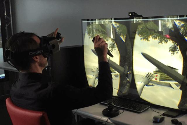 Htc Vive vs Oculus Rift Oculus Rift Interaction