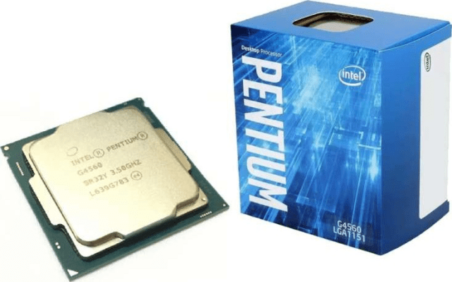 Top 10 Intel Processor List Intel Pentium G4560