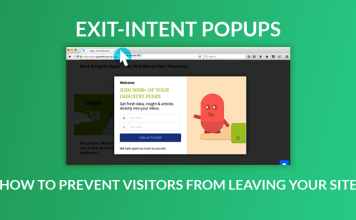 How to Use Exit Intent Features in Content Marketing