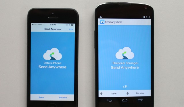 Transfer Photos from iPhone to Android by send anywhere