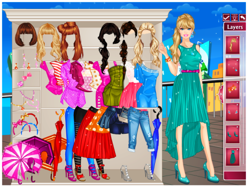Barbie Dress-Up Games