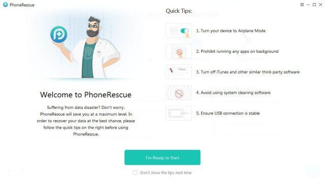 Features of PhoneRescue