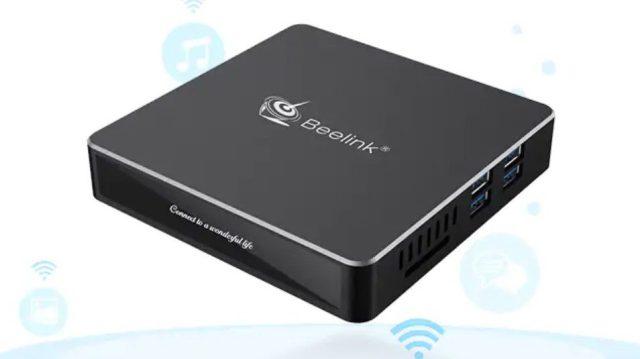 Beelink N41 N4100 Mini PC Design