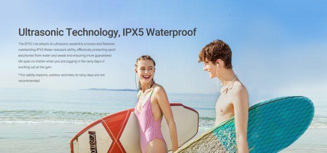 MEIZU EP52 Lite Bluetooth Headphone Waterproof